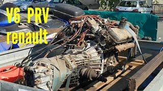 #43  V6  PRV Renault redémarrage