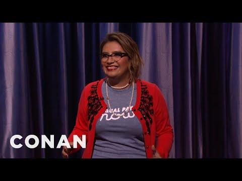 Cristela Alonzo Stand-Up 01/08/17  - CONAN on TBS