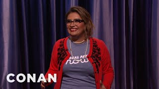 Cristela Alonzo Stand-Up 01/08/17  - CONAN on...