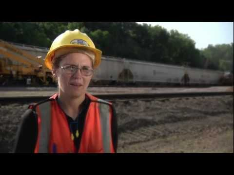 Union Pacific Railroad: Working Track Maintenance