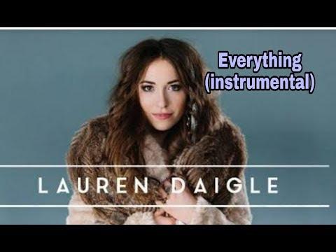 Everything (instrumental) Lauren Daigle 🤗🎤