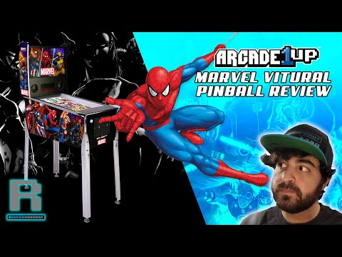 Arcade1UP Marvel Pinball Review | AVENGERS ASSEMBLE! from Restalgia