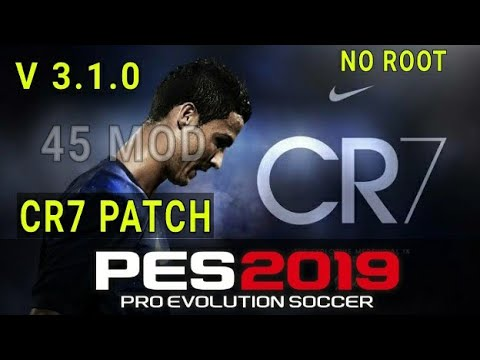 PES 2019 Mobile patch ronaldo version 3 1 0 | No root | 45
