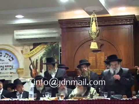 R' Mendel Hager Speaks @ Chanukas Habayis OF Toldos Avrohom Yitschok Shul