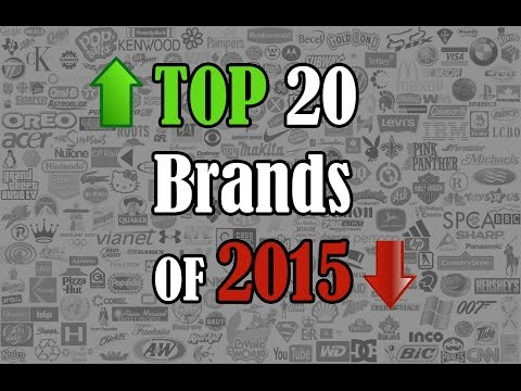 The Value of a Brand: Top 20 Brands of 2015