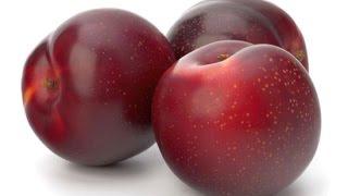 Sweet-Ass Juicy Red Plum : ASMR / Mukbang ( Eating Sounds )
