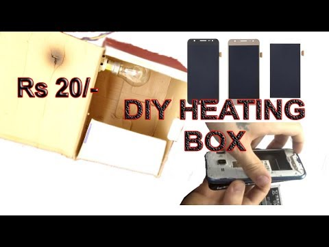 DIY HEATING  BOX  (USE ONLY 5 TO 8 MINUTES)