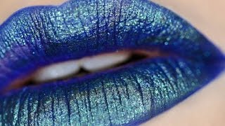 HOLOGRAPHIC LIPS- Urban Decay Vice Lip Toppers [Cinematic Swatches]
