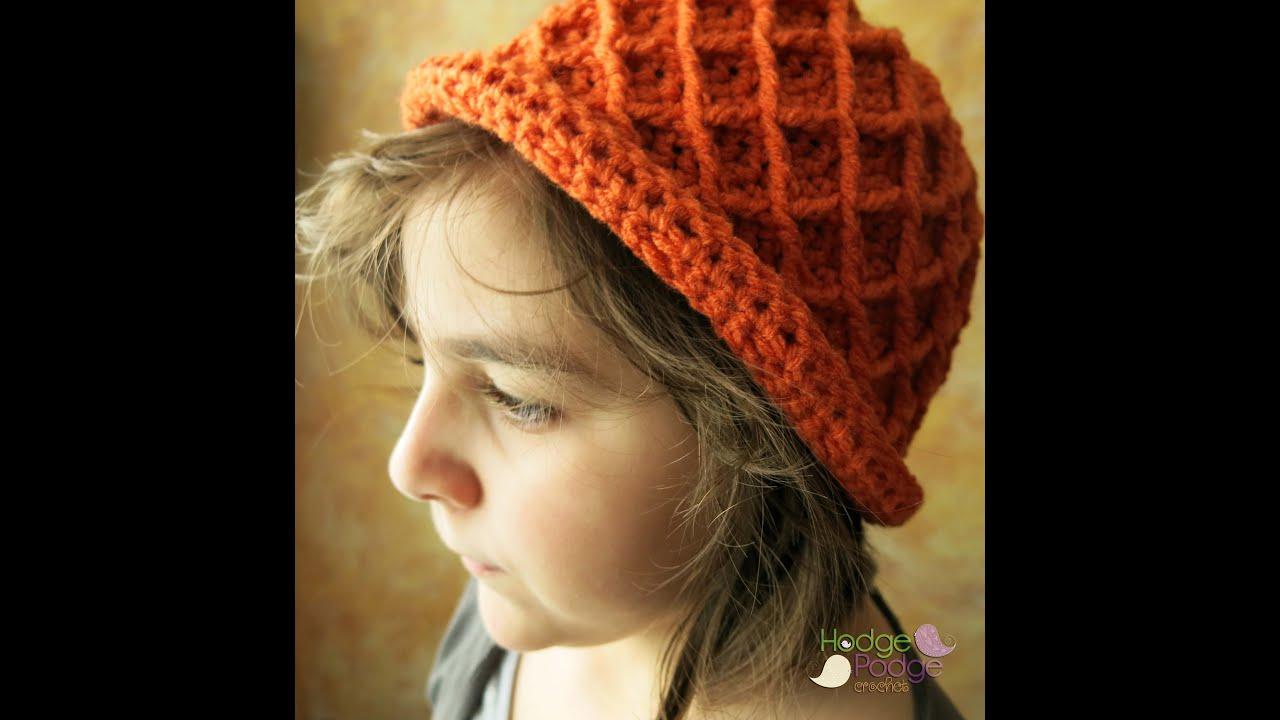 4b3dcd5180c HodgePodge Crochet Presents  A Girl s Best Friend Diamond Pattern ...