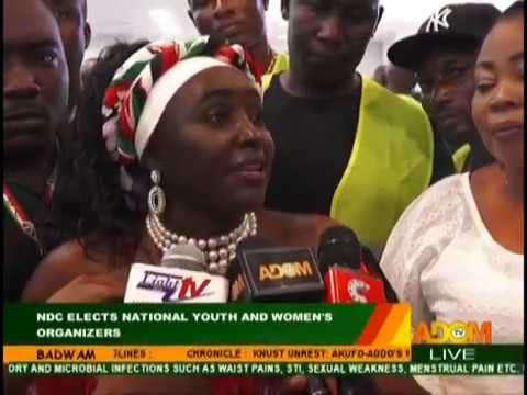 NDC Elects National Youth And Women's Organizers - Badwam on Adom TV (29-10-18)