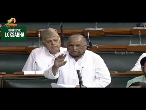 Mulayam Singh Yadav Raised The Issue of Neighboring China | Lok Sabha | Mango News
