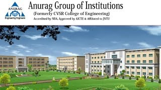 Anurag Group of Institutions(Formerly CVSR College of Engineering)