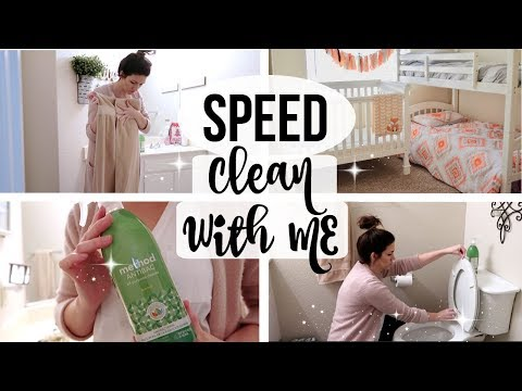 SPEED CLEANING MY HOUSE // Ultimate Cleaning Motivation