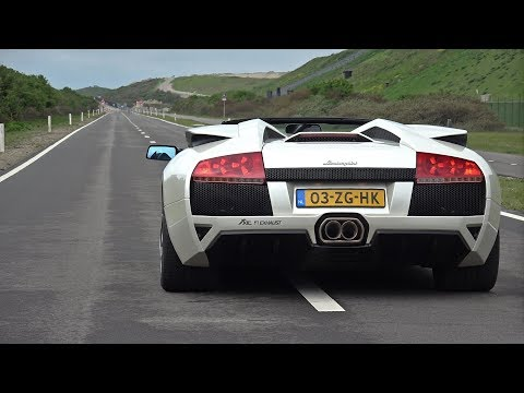 Lamborghini Murcielago LP640 V12 With LOUD Straight Piped Fi Exhaust