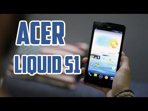 Acer Liquid S1, Review en Español