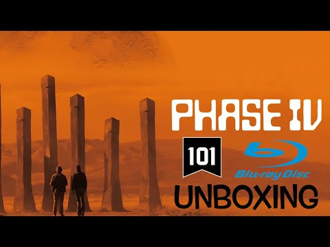 Phase IV 101 Films Blu Ray Unboxing