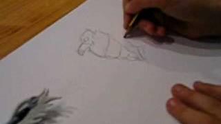 Como dibujar a Helios (Gormiti) videotutorial 1.