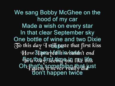 Kenny Chesney Song Lyrics | MetroLyrics