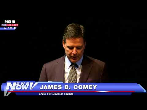 FNN: FBI Director James Comey Speaks on Police-Community Relations