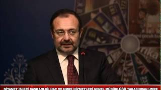 Umre kafile başkanlarına seminer 2017 Video