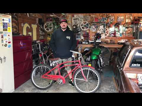 1936 Hawthorne sportsman fastback prewar bicycle barn find! Board track racer? Restoration? Balloon