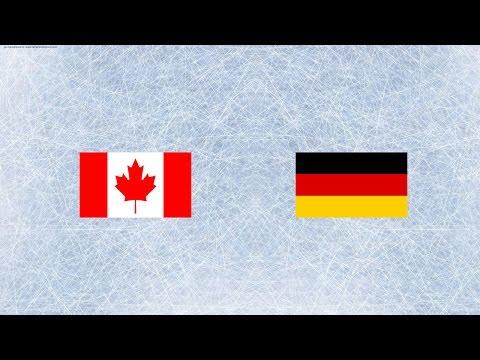 LIVE   Прямая трансляция   Канада-Германия  1080p