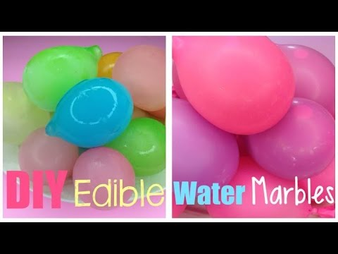 Diy Water Marbles You Can Eat Youtube
