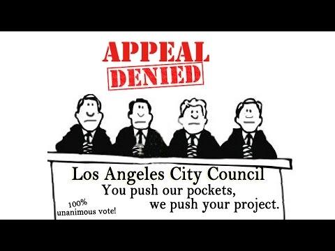 Los Angeles City Council Hearing - November 8, 2016 - Part 1