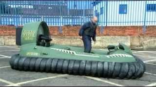 видео Суда на воздушной подушке своими руками: технология изготовления