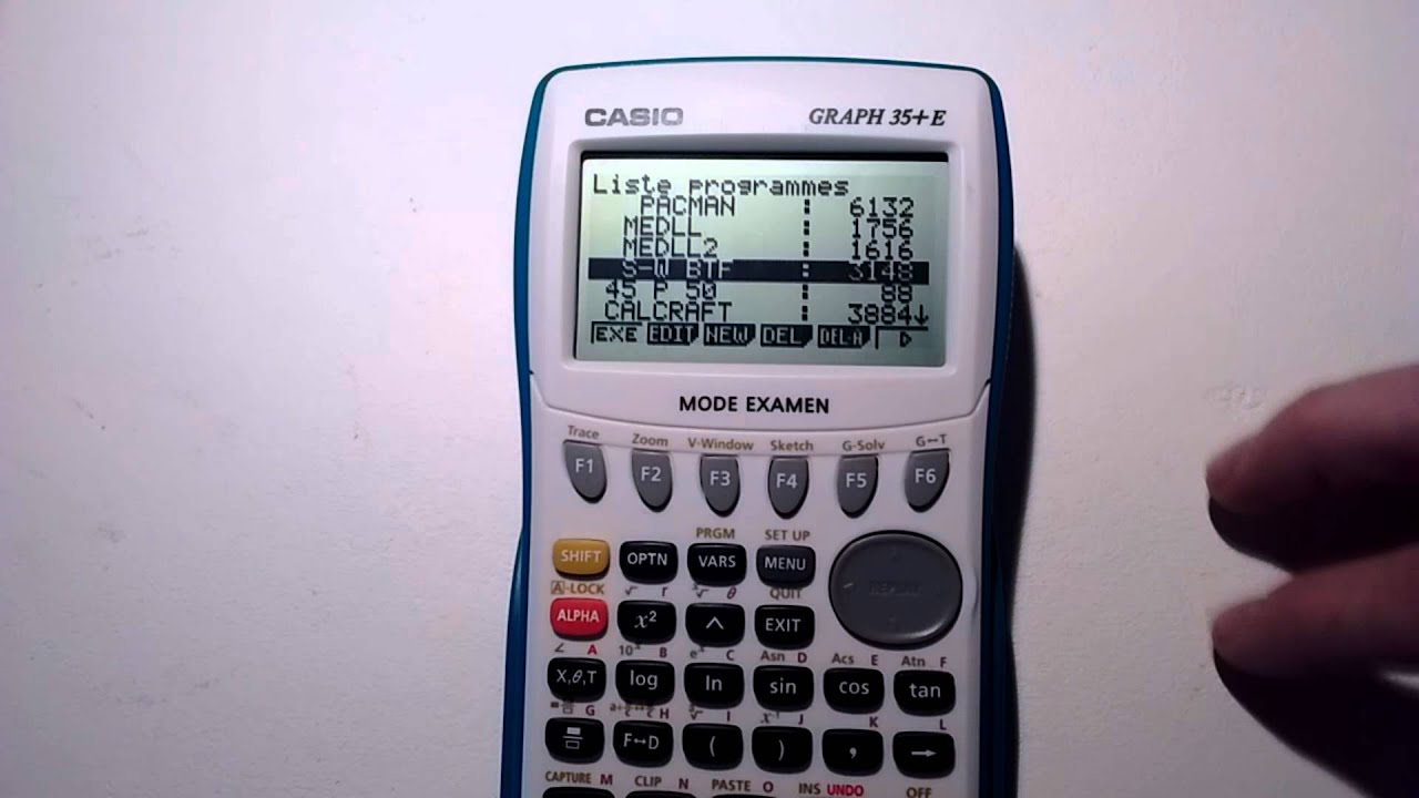 TÉLÉCHARGER CALCULETTE CASIO