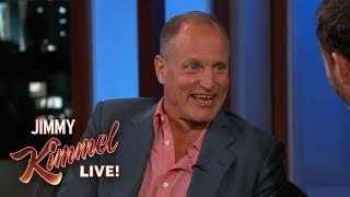 Woody Harrelson Loses a LOT of Money to Willie Nelson