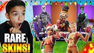 I SURPRISED My 10 Year Old Little Brother With The RAREST Fortnite Account Ever! Emotional