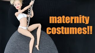 Maternity Halloween Costumes at 9 Months Pregnant!!