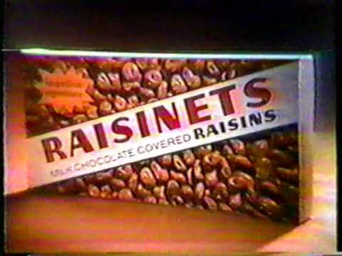 1982 Raisinets Theater Candy TV Commercial
