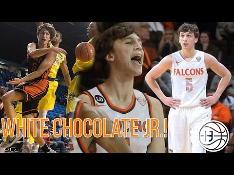 White Chocolate Jr.! Dylan Frye is BALLING OUT in Division 1 Basketball! Freshman Highlights!