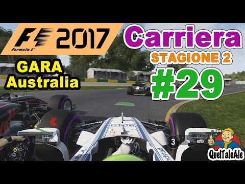 F1 2017 - PS4 Gameplay ITA - T300 - Carriera #29 - GARA Australia - Buoni propositi