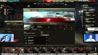 Live - 10 GODZINNY #4 CytrusANDSwiatek6 czołgistami ?!:D (8.08.2015r)
