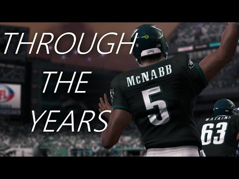 Donovan McNabb Through the Years - NCAA Football 99 - madden 13