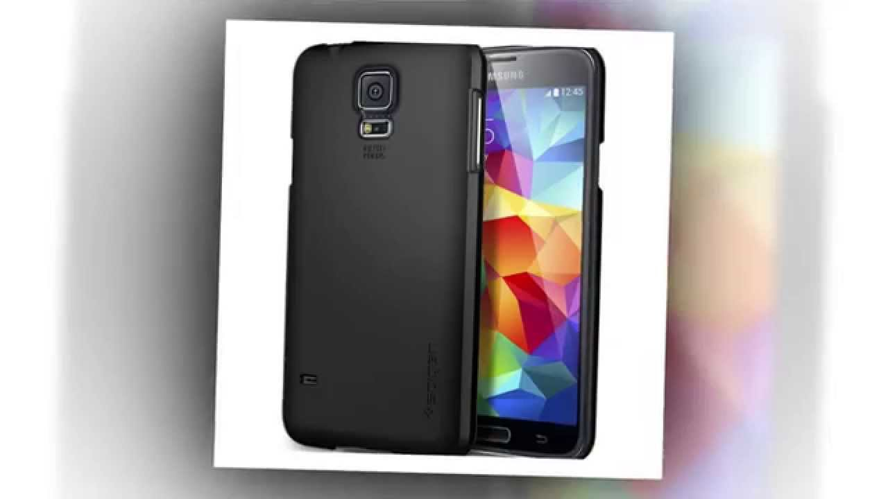 separation shoes d3d4e ca66d Samsung Galaxy S5 Case Slim [Ultra Fit] [Smooth Black] Premium Protection  SF Coated