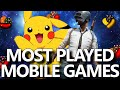 Top 10 Most Popular Mobile Games of All Time! (Most Played Mobile Games in the World in 2020)