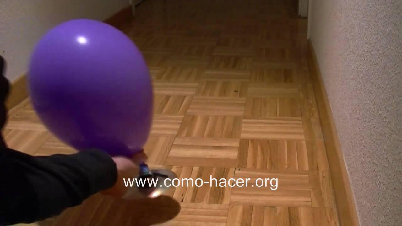 Experimentos caseros fciles  Como hacer un juguete