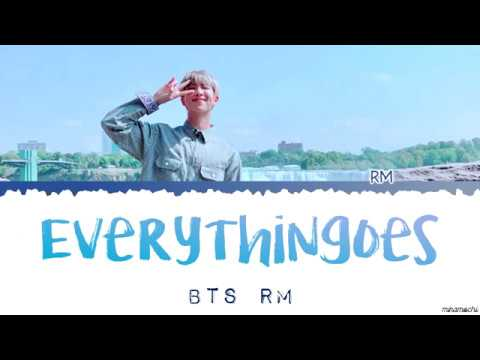 RM (김남준) - 'everythingoes' (with NELL) 😑 Lyrics