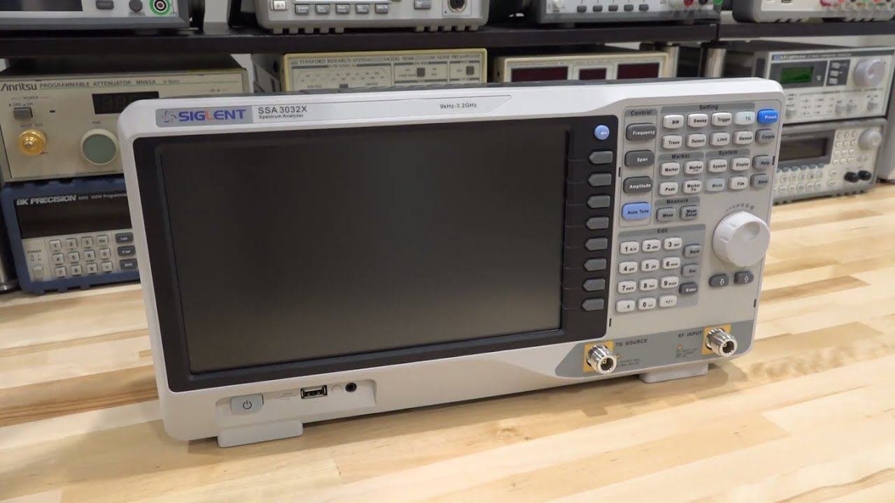 TSP #104 - Siglent SSA3032X 9kHz - 3 2GHz Spectrum Analyzer / TG Review,  Teardown & Experiment