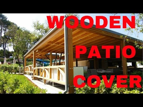 How to make a patio cover