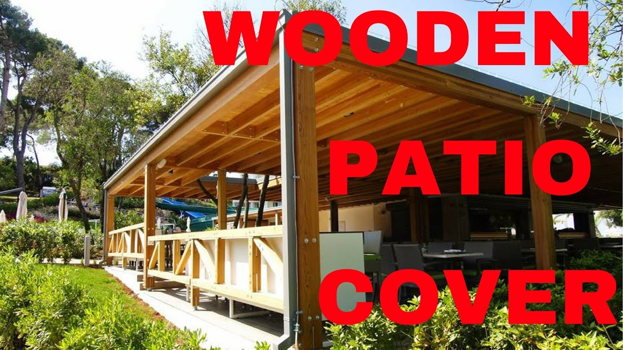 Glulam Larch Patio Cover   YouTube