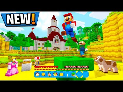 THE OFFICIAL MINECRAFT MARIO MOD PACK