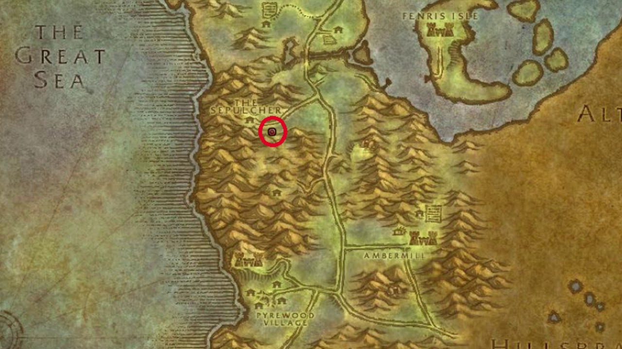 how to get to silverpine forest