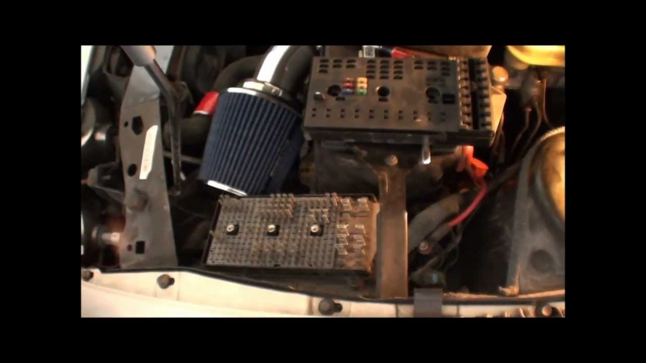 Saturn S-Series OEM Foglight Install - YouTube
