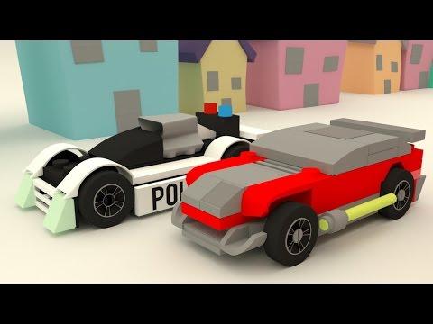 NEW LEGO POLICE SUPER CAR ANIMATION