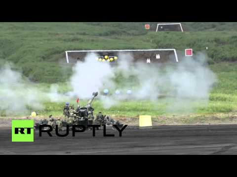 Japan: Army holds live-fire drills as Tokyo seeks to expand role of the military